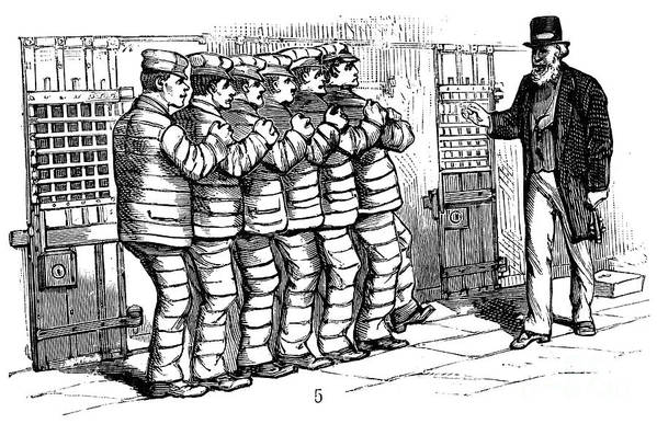 1878 Art Print featuring the photograph Sing Sing Prison, 1878 by Granger