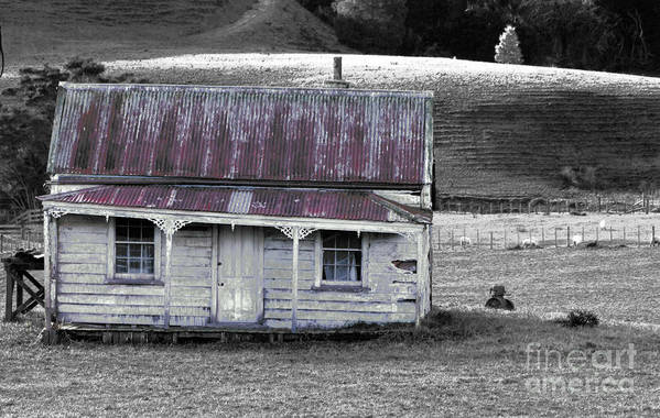 Crooked Art Print featuring the photograph The Crooked Cottage by Karen Lewis