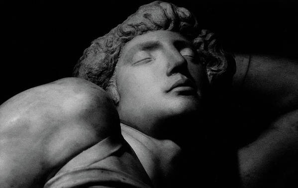 The Dying Slave Art Print featuring the photograph The Dying Slave by Michelangelo Buonarroti