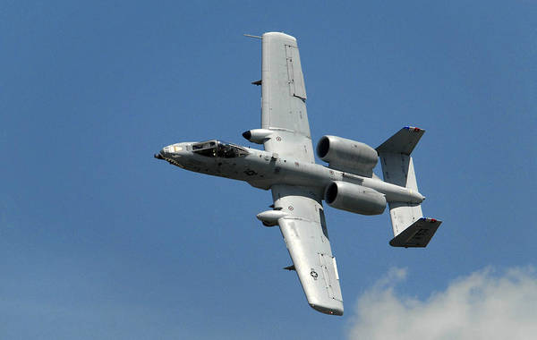 Military Art Print featuring the photograph A-10 Warthog by Murray Bloom