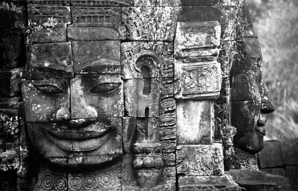 Bayon Temple Art Print featuring the photograph Bayon IIi by Patrick Klauss