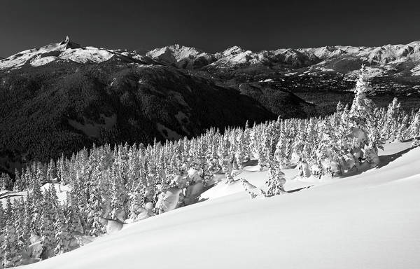 Whistler Art Print featuring the photograph Black Tusk Mountain Scenery by Pierre Leclerc Photography