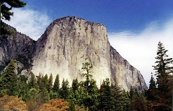 Yosemite Art Print featuring the photograph El Capitan by Joanne Riske