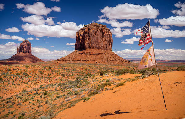 Monument Valley Art Print featuring the photograph Geronimo by Prashant Thumma