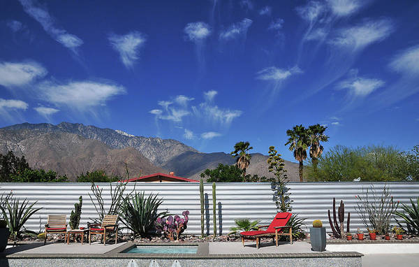 Clouds Art Print featuring the photograph Jelly Fish Clouds In Palm Springs I by David A Lee