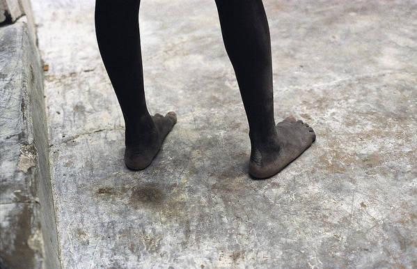 Feet Art Print featuring the photograph Lamu Feet by Marcus Best