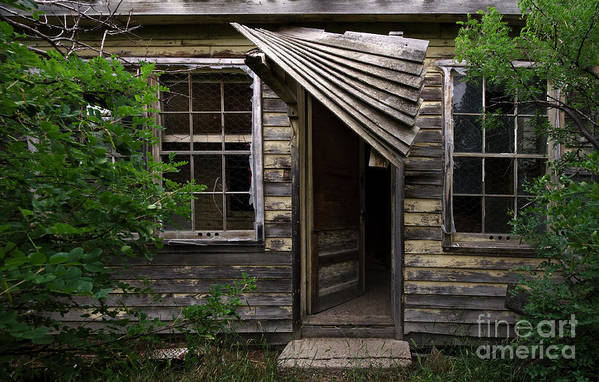 Building Art Print featuring the photograph Lost Dreams 4 by Bob Christopher