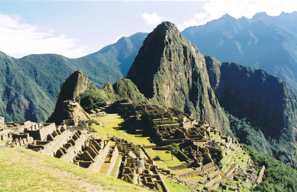 Peru Art Print featuring the photograph Machu Picchu by Kathy Schumann