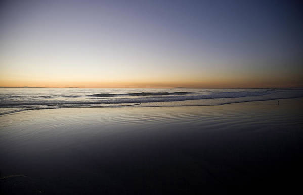 Water Art Print featuring the photograph Pacific Ocean Dusk by Brad Rickerby