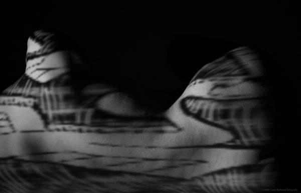 Nude Art Print featuring the photograph Proiection 2 by Luigi Barbano BARBANO LLC
