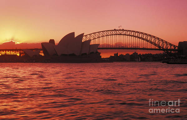 Arch Art Print featuring the photograph Sydney Opera House by Bill Bachmann - Printscapes