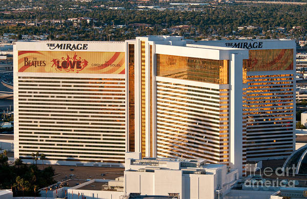 Las Vegas Print featuring the photograph The Mirage Hotel by Andy Smy