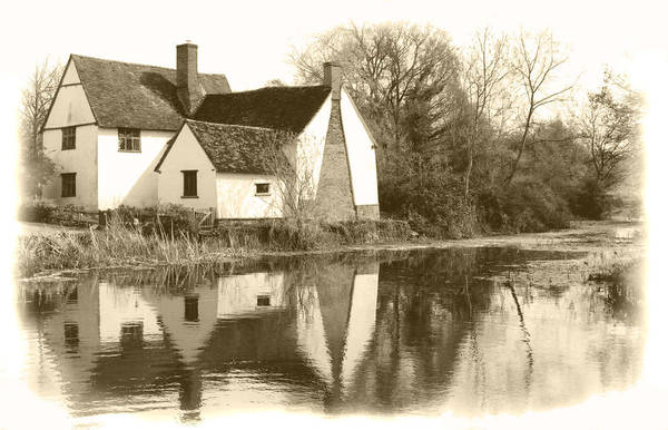Willy Lots Cottage Art Print featuring the photograph Willy Lots Cottage by Terence Davis