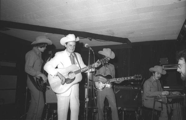 Performance Art Print featuring the photograph Ernest Tubb At The Palomino 1 by Michael Ochs Archives