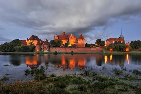 A Huge Castle Art Print featuring the photograph Castle by Jan Sieminski