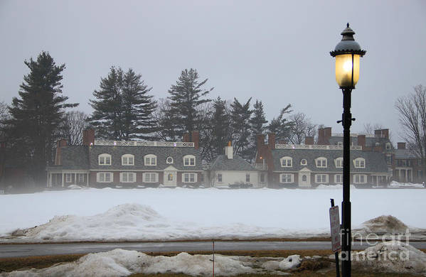 Wicked New England Photography Art Print featuring the photograph Winters Light by Michael Mooney