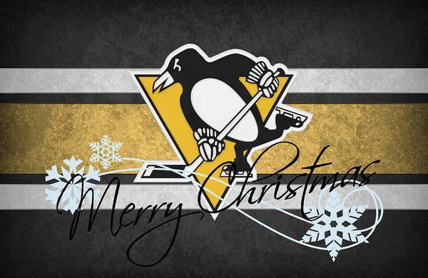Penguins Art Print featuring the photograph Pittsburgh Penguins by Joe Hamilton