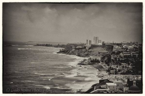 Puerto Rico Art Print featuring the photograph Old San Juan by Dado Molina