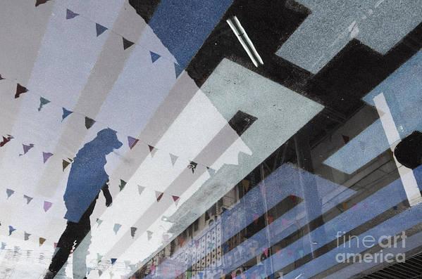 Blue Art Print featuring the photograph April Rain by Setsiri Silapasuwanchai