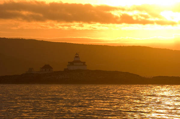 Acadia National Park Art Print featuring the photograph Acadia Lighthouse by Sebastian Musial