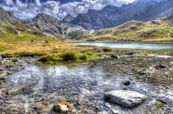 Clouds Art Print featuring the photograph Alps Southern France by Seruddin Salleh