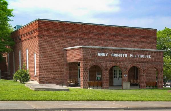 Andy Griffith Playhouse Art Print featuring the photograph Andy Griffith Playhouse Nc by Bob Pardue