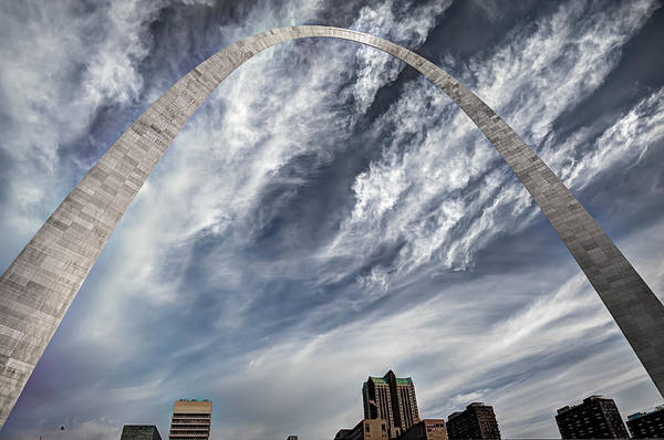 America Art Print featuring the photograph Arching Over St. Louis by Gregory Ballos