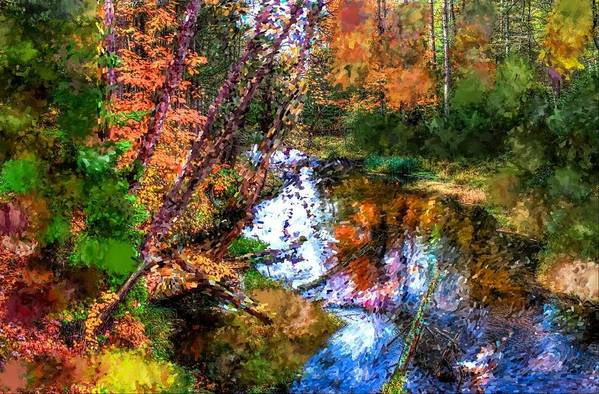 Autumn Art Print featuring the photograph Autumn by Charlotte Daniels