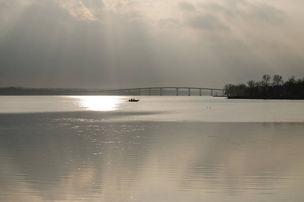 Boaters Art Print featuring the photograph Boaters On The Bay Of Quinte by Shane Laing