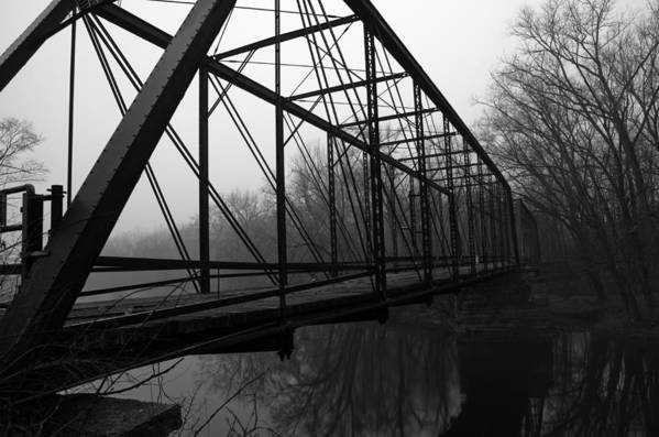 Bridge Art Print featuring the photograph Bridge by Off The Beaten Path Photography - Andrew Alexander