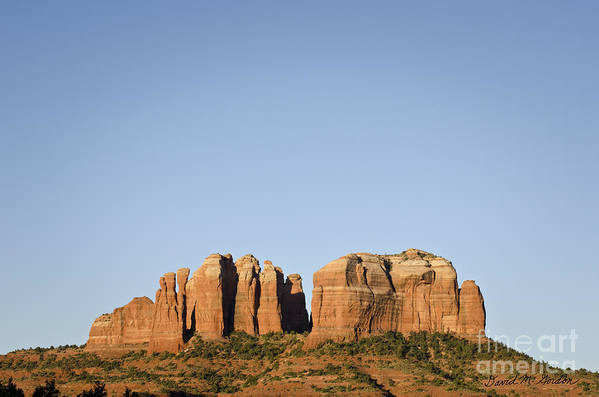 Cathedral Art Print featuring the photograph Cathedral Rock Vi by Dave Gordon