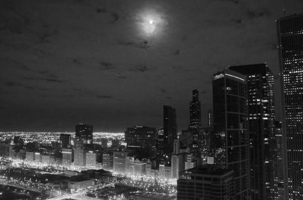 City Art Print featuring the photograph City At Night by Gregory Lafferty