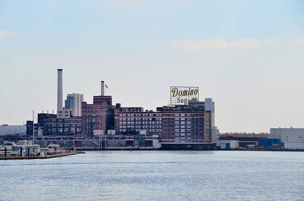 Domino Art Print featuring the photograph Domino Sugars - Baltimore Maryland by Bill Cannon