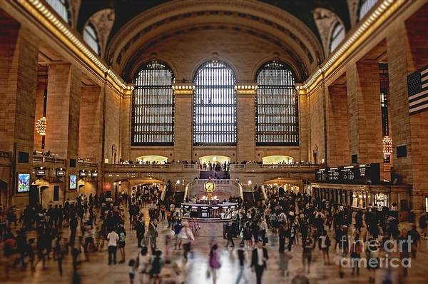 Grand Art Print featuring the photograph Grand Central by Andrew Paranavitana