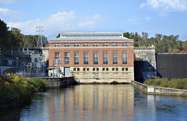 Art Print featuring the photograph Hydroelectric Power by Susan Leggett