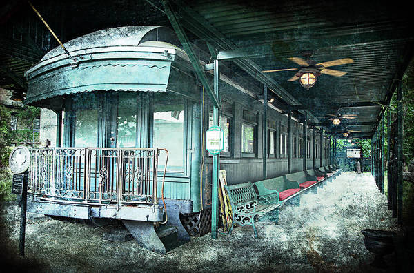 Jay Gould Private Railroad Car Art Print featuring the photograph Jay Gould Private Railroad Car by Charrie Shockey