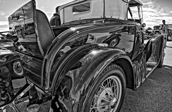 Ford Art Print featuring the photograph Let's Rumble 2 by Steve Harrington