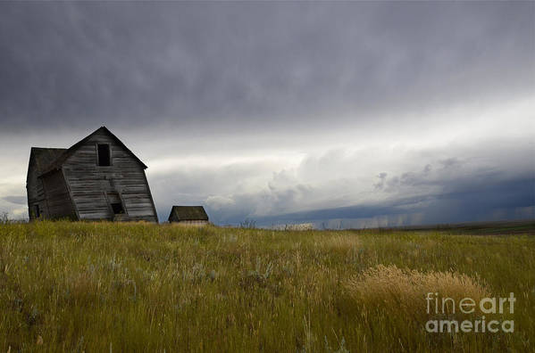 Homestead Art Print featuring the photograph Little Remains by Bob Christopher