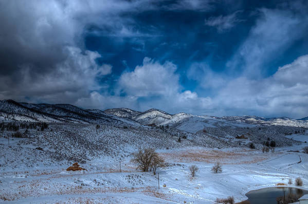 Horsetooth Reservoir Art Print featuring the photograph Northern View From Horsetooth Reservoir by Harry Strharsky