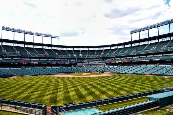 Oriole Art Print featuring the photograph Oriole Park At Camden Yards by Bill Cannon