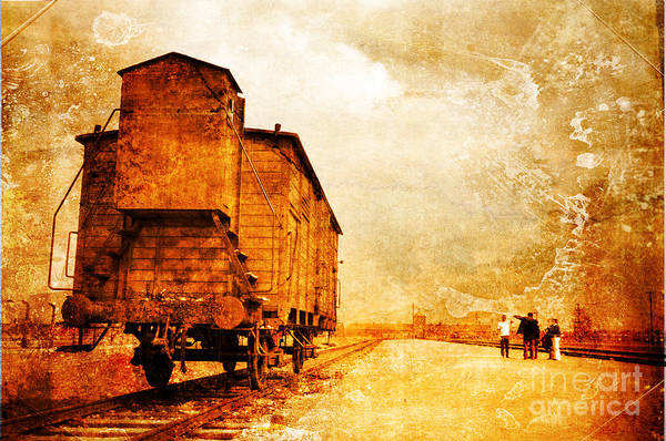 Holocaust Art Print featuring the photograph Painful Memories by Randi Grace Nilsberg