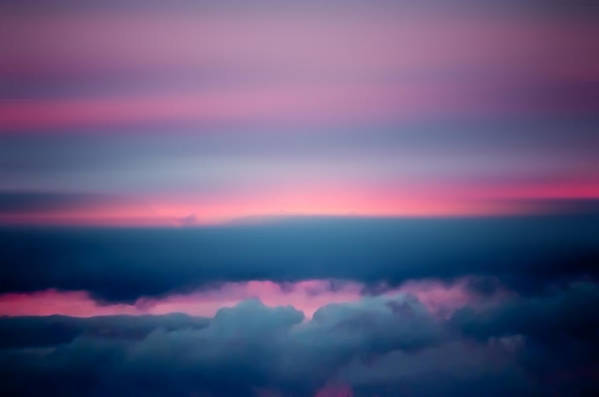 Sky Art Print featuring the photograph Pink Sunset by Cara Moulds