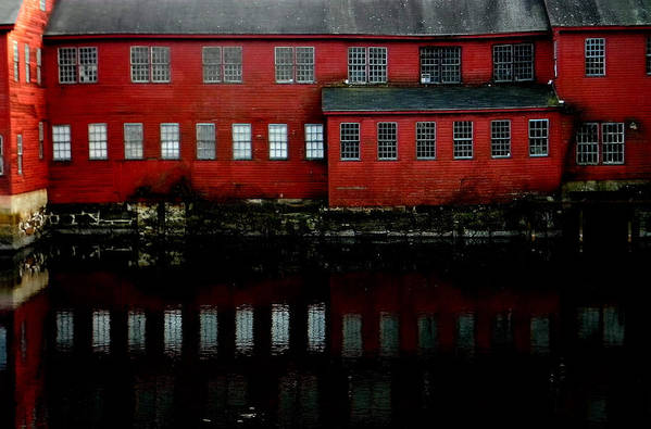 Collinsville Art Print featuring the photograph Red by Andrea Galiffi