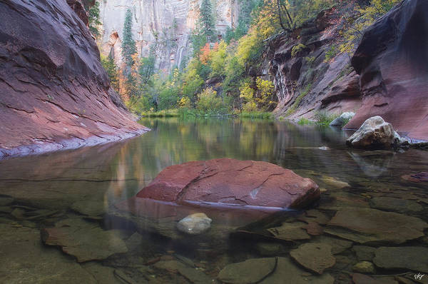 West Fork Oak Creek Canyon Art Print featuring the photograph Revisited by Peter Coskun