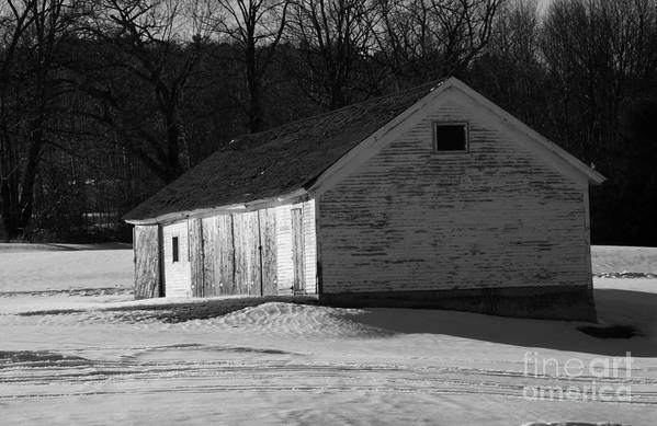 Wicked New England Photography Art Print featuring the photograph Rustic Shack 2 by Michael Mooney