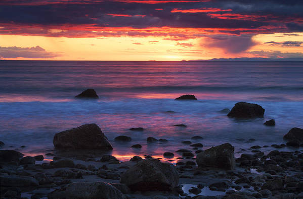 Rocks Art Print featuring the photograph Sound Colors by Mark Kiver