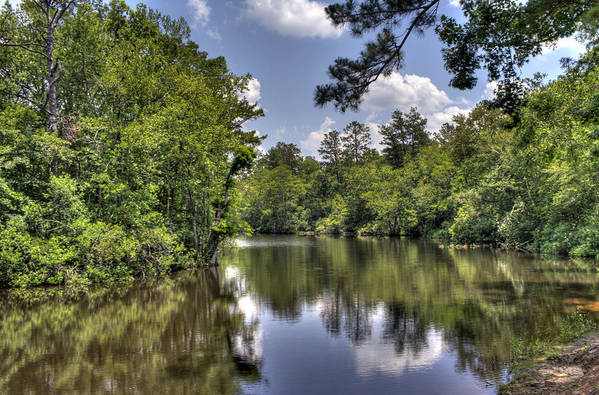 River Art Print featuring the photograph Still Waters by David Troxel