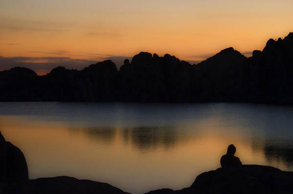 Sunrise Art Print featuring the photograph Sunrise Solitude by Dave Dilli