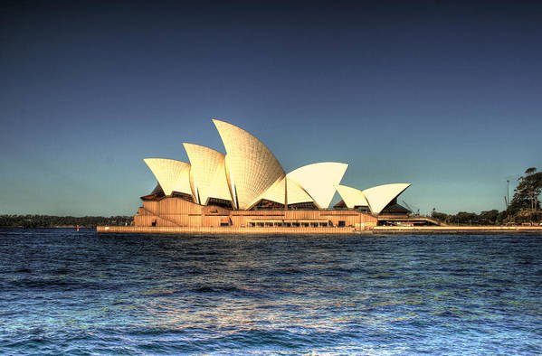 Sydney Art Print featuring the photograph Sydney Opera House by John Keyser