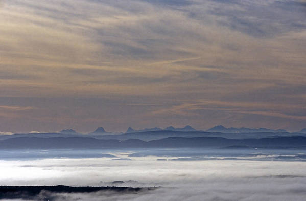 Cloudy Sky Art Print featuring the photograph The Dawn by Patrick Kessler